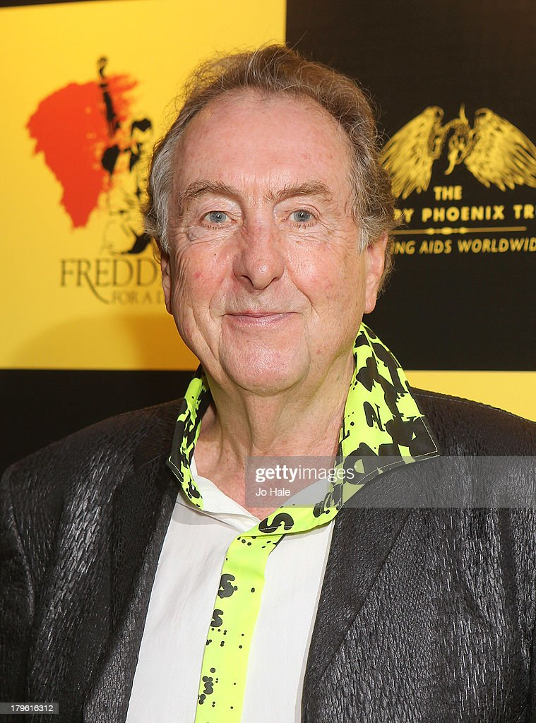 <a gi-track='captionPersonalityLinkClicked' href=/galleries/search?phrase=Eric+Idle&family=editorial&specificpeople=213355 ng-click='$event.stopPropagation()'>Eric Idle</a> attends the Freddie for a Day charity event in aid of The Mercury Phoenix Trust at The Savoy Hotel on September 5, 2013 in London, England.
