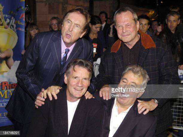 Eric IdleTerry Gilliam Michael Palin and Terry Jones