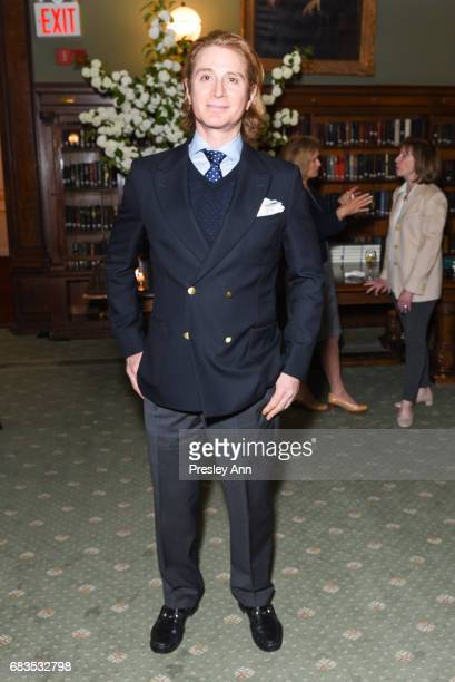 Eric Javits Jr attends Audrey Gruss' Hope for Depression Research Foundation Dinner with Author Daphne Merkin at The Metropolitan Club on May 15 2017...