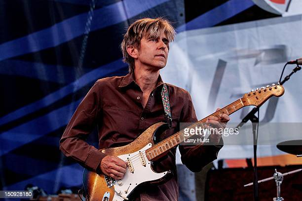 Eric Johnson performs at Guitartown in Copper Mountain Colorado on August 12 2012