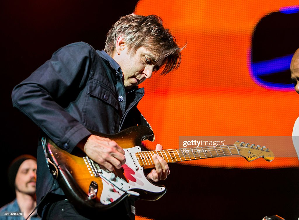 Eric Johnson performs during the Experience Hendrix 2014 Tour at The Fox Theatre on April 3, 2014 in Detroit, Michigan.