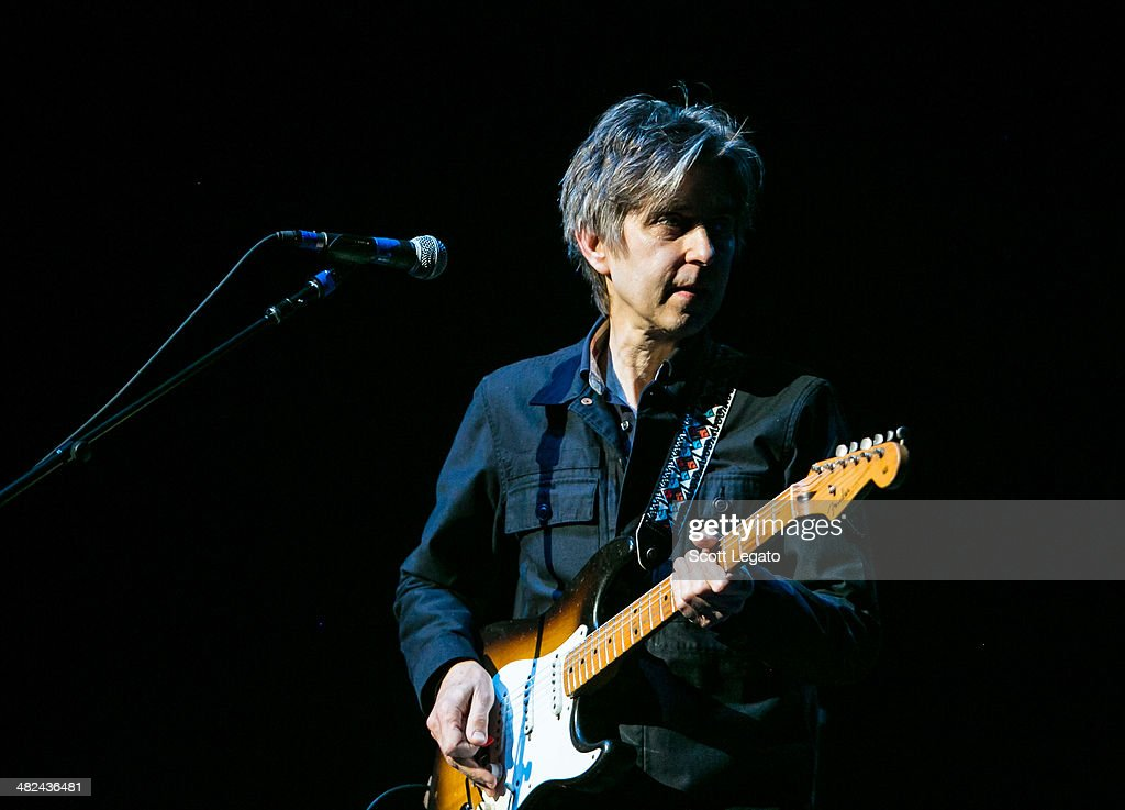 <a gi-track='captionPersonalityLinkClicked' href=/galleries/search?phrase=Eric+Johnson+-+Musician&family=editorial&specificpeople=12959645 ng-click='$event.stopPropagation()'>Eric Johnson</a> performs during the Experience Hendrix 2014 Tour at The Fox Theatre on April 3, 2014 in Detroit, Michigan.