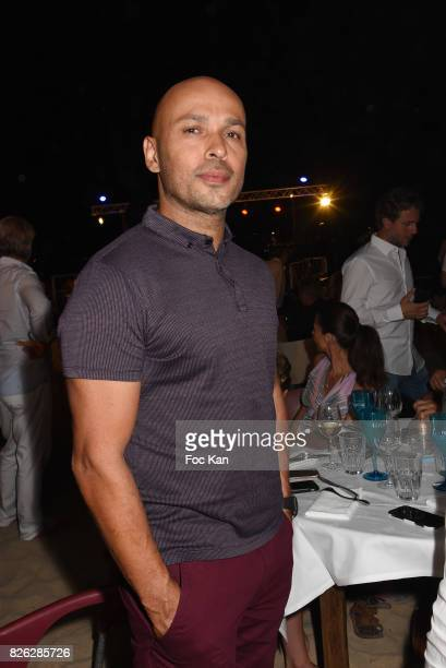 Eric Judor attend the Fight Night Weighing Party at La Bouillabaisse Saint Tropez on August 3 2017 in SaintTropez France