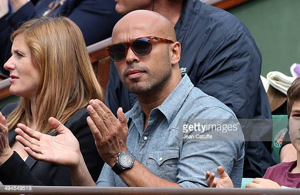 Eric Judor attends Day 5 of the French Open 2014 held at RolandGarros stadium on May 29 2014 in Paris France
