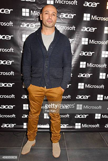 Eric judor attends the Acer Pop Up Store Launch Party at Les Halles on November 20 2014 in Paris France