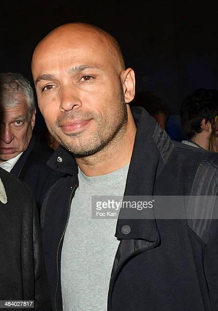 Eric Judor attends the 'Balsao WareHouse' Party At Docks De Paris Aubervilliers on April 10 2014 in Paris France
