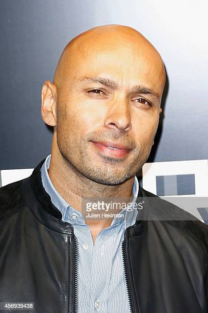 Eric Judor attends the 'Karl Lagerfeld Homme' Opening Boutique At Rue Marbeuf on October 9 2014 in Paris France