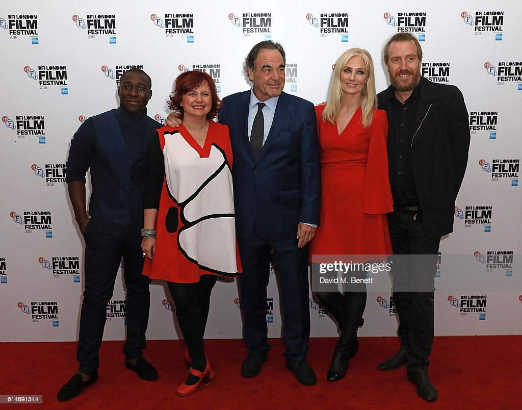 'Snowden' - Headline Gala - 60th BFI London Film Festival - VIP Arrivals