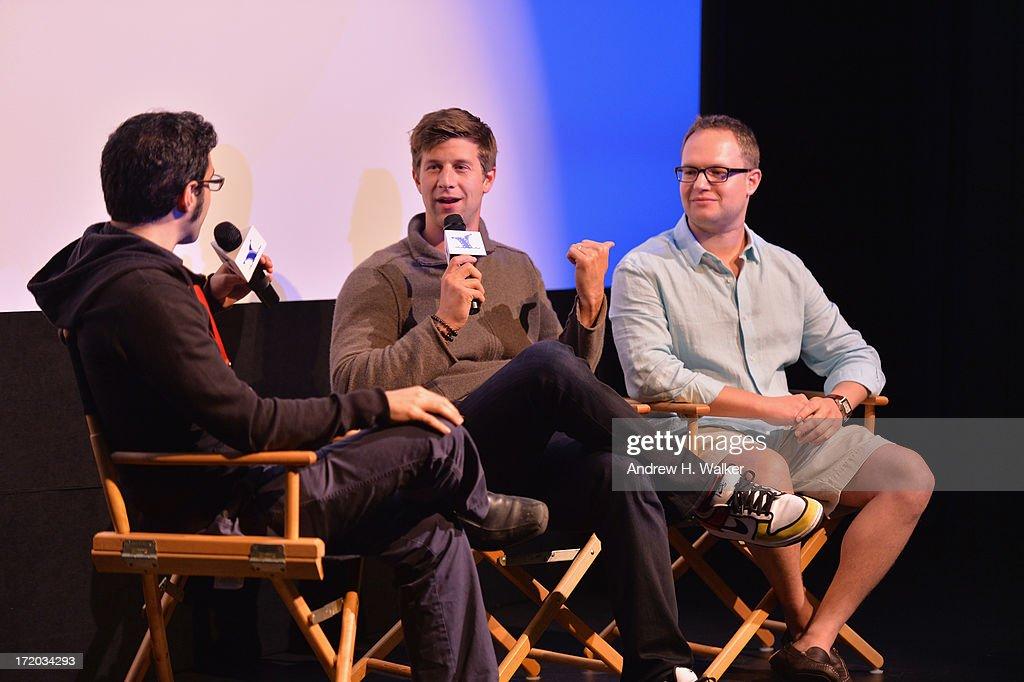 Eric Kohn, Paul Bernon and Sam Slater attend the 18th Annual Nantucket Film Festival on June 30, 2013 in Nantucket, Massachusetts.
