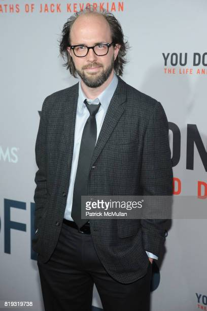 Eric Lange attends HBO Films NYC Premiere of 'YOU DON'T KNOW JACK' at The Ziegfeld Theater on April 14 2010 in New York City