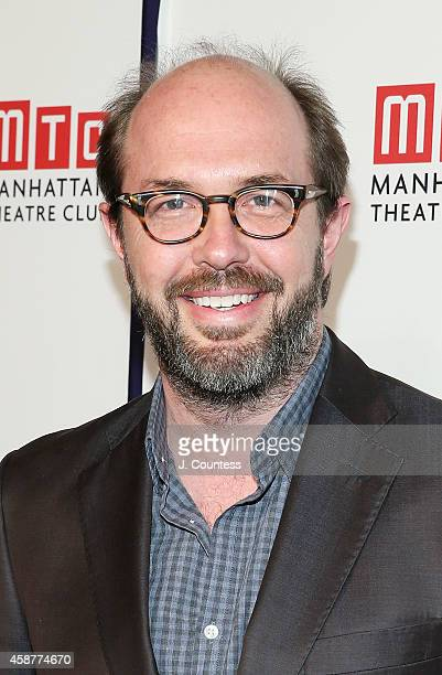 Eric Lange attends the Manhattan Theatre Club 2014 Fall Benefit at Frederick P Rose Hall Jazz at Lincoln Center on November 10 2014 in New York City