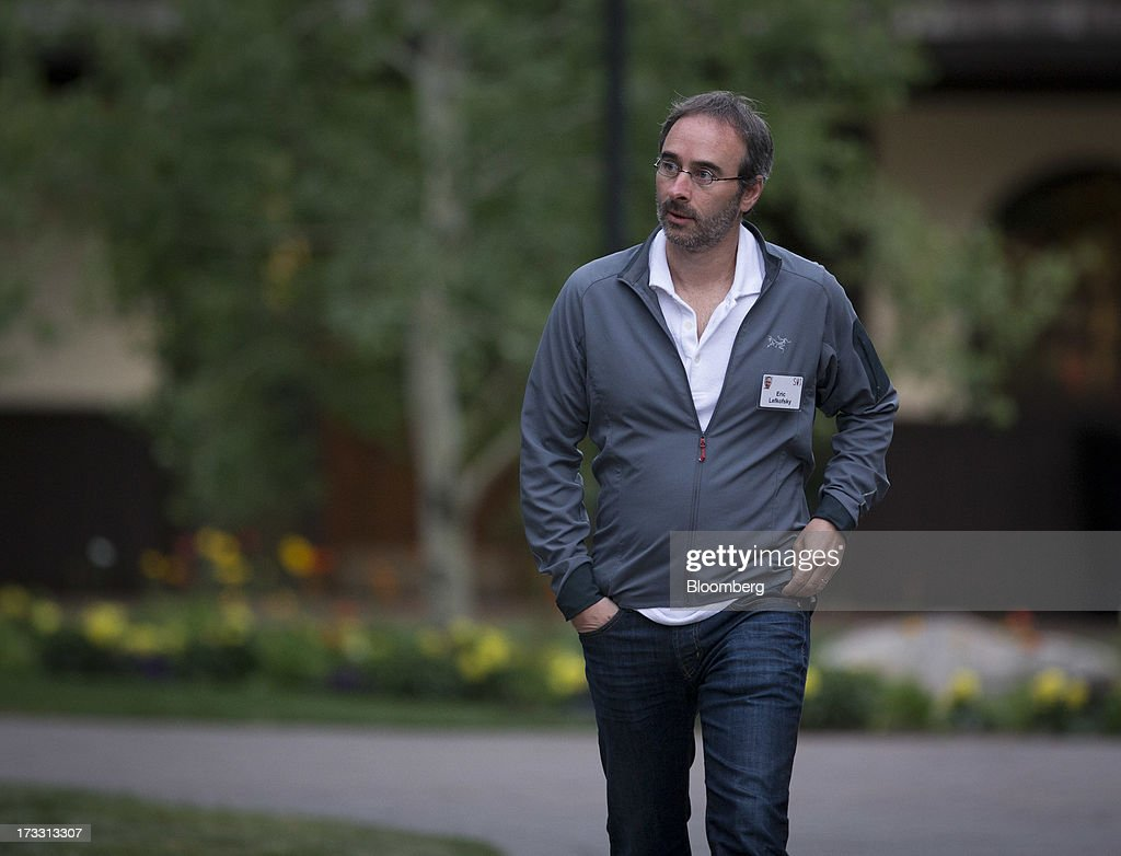 Eric Lefkofsky chairman and cofounder of Groupon Inc walks to a morning session at the Allen Co Media and Technology Conference in Sun Valley Idaho...