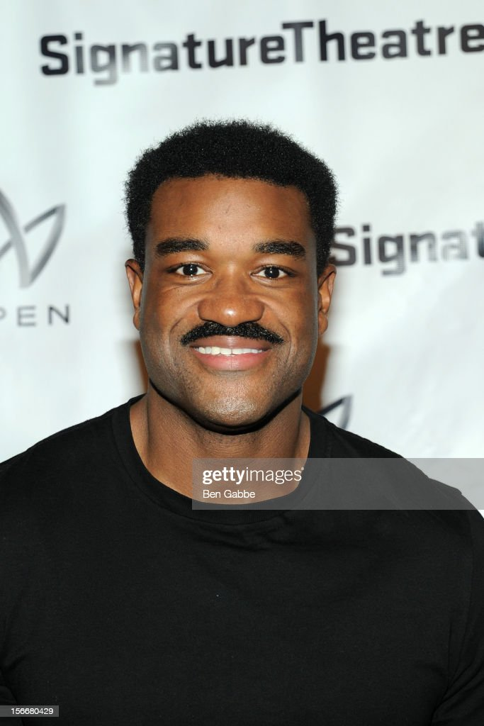 Eric Lenox Abrams attends 'The Piano Lesson' Opening Night Party at Signature Theater Company's Peter Norton Space on November 18, 2012 in New York City.