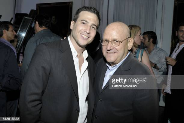 Eric Lerner and Ed Pressman attend Eric Lerner Frank Cascio Celebrate their birthdays with Host Sean Parker and CoHosts Denise Rich Romero Britto and...