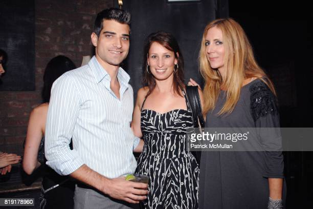 Eric London Sarah Weidman Danielle Friedman attend The Supper Club Shepard Fairey's SNO host a Bombay Sapphire Tea Party at The Tea Room on July 20...