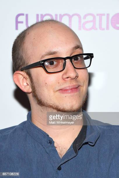 Eric Lu attends Funimation Films presents 'Your Name' Theatrical Premiere in Los Angeles CA at Yamashiro Hollywood on March 23 2017 in Los Angeles...