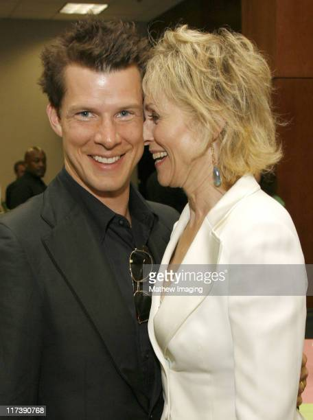 Eric Mabius and Judith Light during The Academy of Television Arts Sciences Presents An Evening with 'Ugly Betty' VIP Reception at Leonard H...