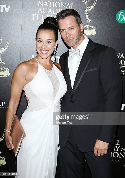 Eric Martsolf arrives at the 41st Annual Daytime Emmy Awards held at The Beverly Hilton Hotel on June 22 2014 in Beverly Hills California