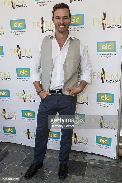 Eric Martsolf attends the 19th Annual Prism Awards Ceremony at Skirball Cultural Center on July 16 2015 in Los Angeles California