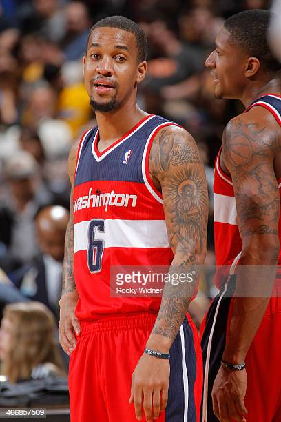 Eric Maynor of the Washington Wizards while facing the Golden State Warriors on January 28 2014 at Oracle Arena in Oakland California NOTE TO USER...