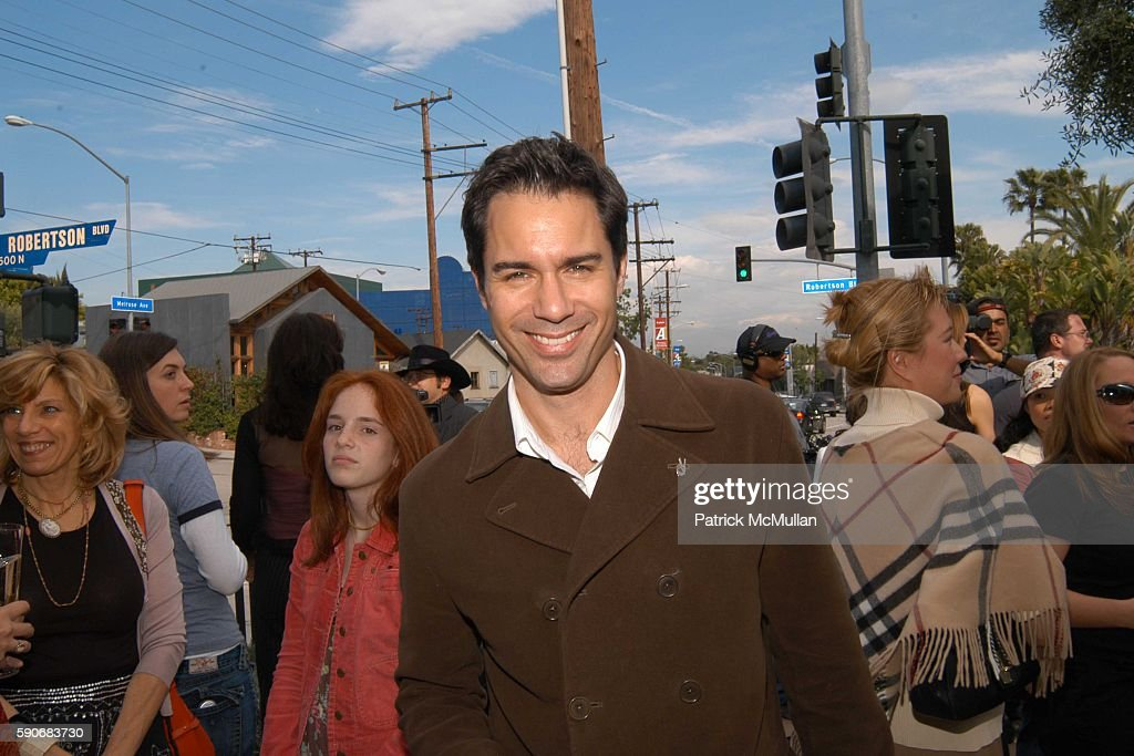 Eric McCormack attends John Varvatos' 3rd Annual Stuart House Charity Benefit at John Varvatos Boutique on March 5 2005 in West Hollywood California