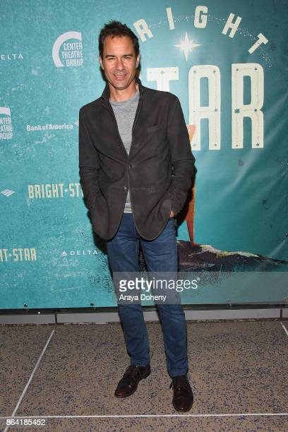 Eric McCormack attends the opening night of 'Bright Star' at Ahmanson Theatre on October 20 2017 in Los Angeles California