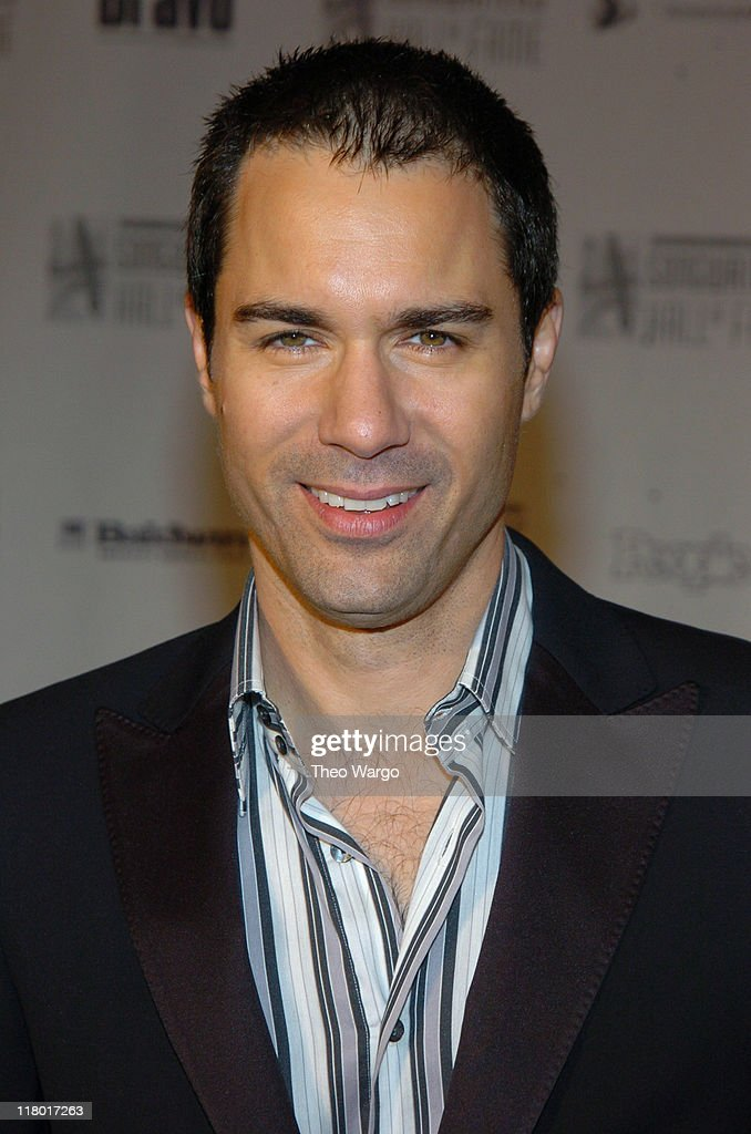 Eric McCormack during 35th Annual Songwriters Hall of Fame Awards Induction - Arrivals at Mariott Marquis Hotel in New York City, New York, United States.