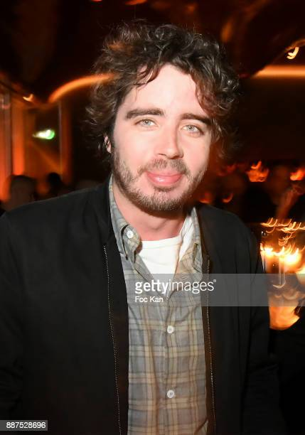 Eric Metzger attends Technikart Party at Les Bains Paris Club on December 6 2017 in Paris France