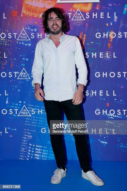 Eric Metzger attends the Paris Premiere of the Paramount Pictures release 'Ghost in the Shell' Held at Le Grand Rex on March 21 2017 in Paris France