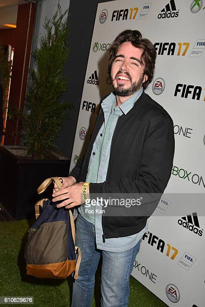 Eric Metzger from 'Eric et Quentin' TV serials attendsFIFA Xperience at Cercle Cadet on September 26 2016 in Paris France