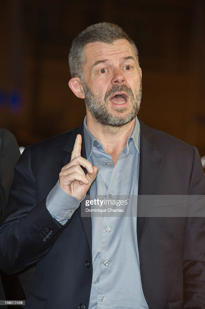 Eric Naulleau arrives to the awrard ceremony of the 12th International Marrakech Film Festival on December 8, 2012 in Marrakech, Morocco.