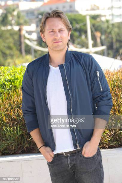 Eric Nelsen attends photocall for 'The Bay' as part of MIPCOM 2017 at the Palais des Festivals on October 17 2017 in Cannes France