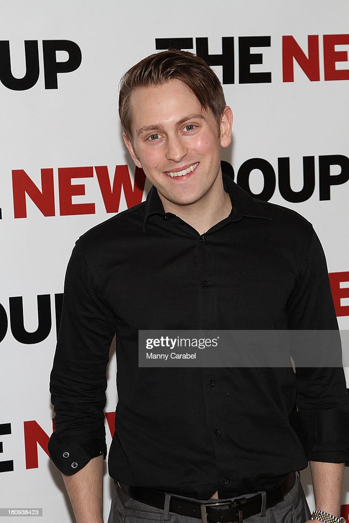 Eric Nelsen attends the World Premiere of 'Clive' at West Bank Cafe on February 7, 2013 in New York City.