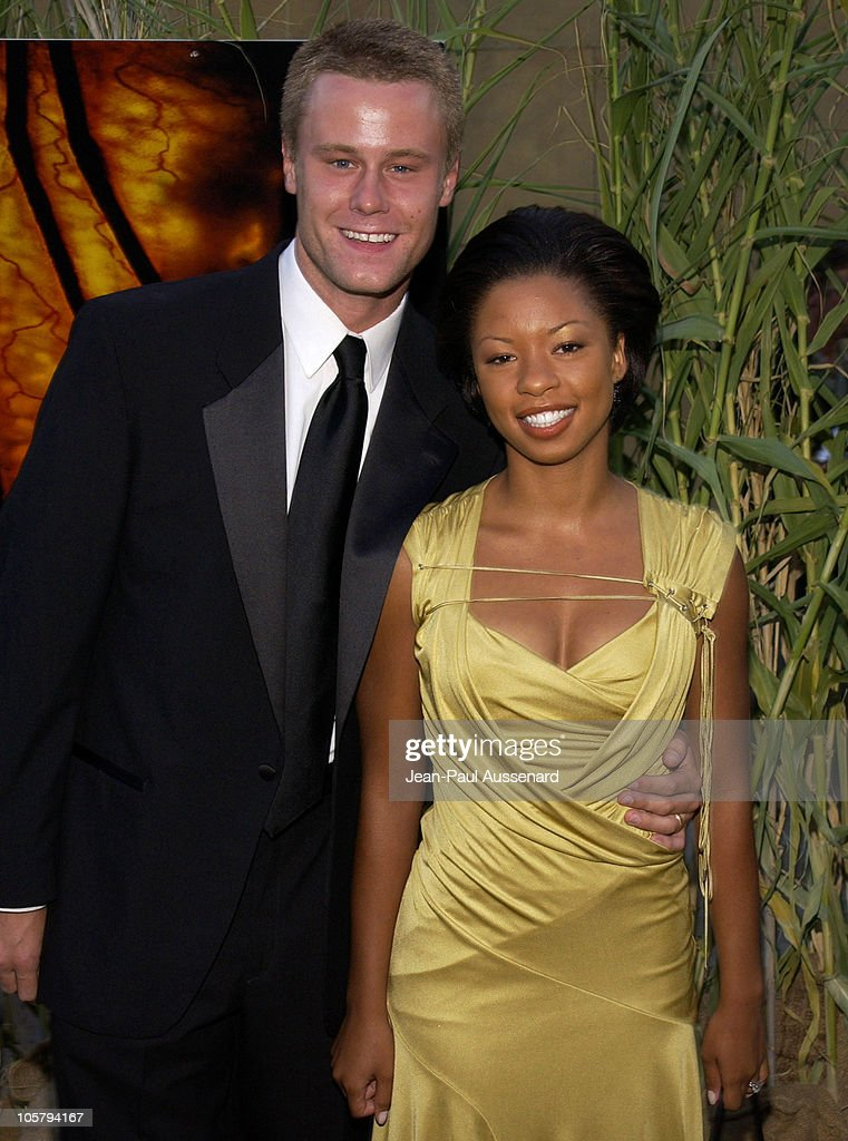 Eric Nenninger and wife Angel Parker during 'Jeepers Creepers 2' Los Angeles Premiere in Hollywood, California, United States.