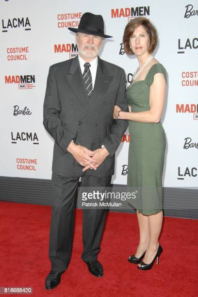 Eric Oltman and Susan Van Abel attend The COSTUME COUNCIL of LACMA presents The Creativity Costumes and Style of Mad Men at Los Angeles County Museum...