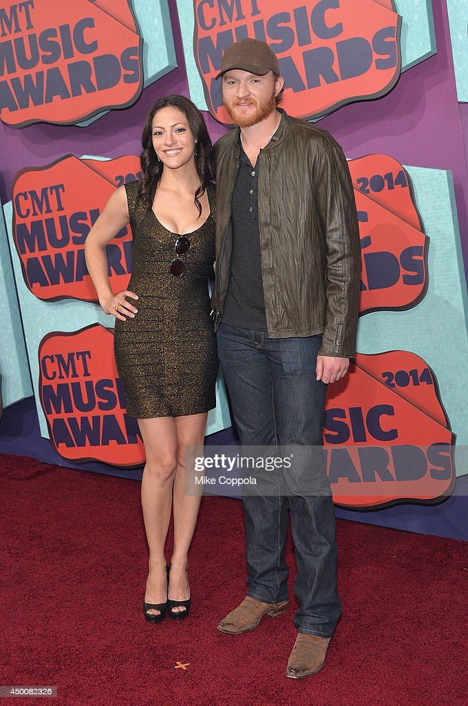 Eric Paslay attends the 2014 CMT Music awards at the Bridgestone Arena on June 4 2014 in Nashville Tennessee