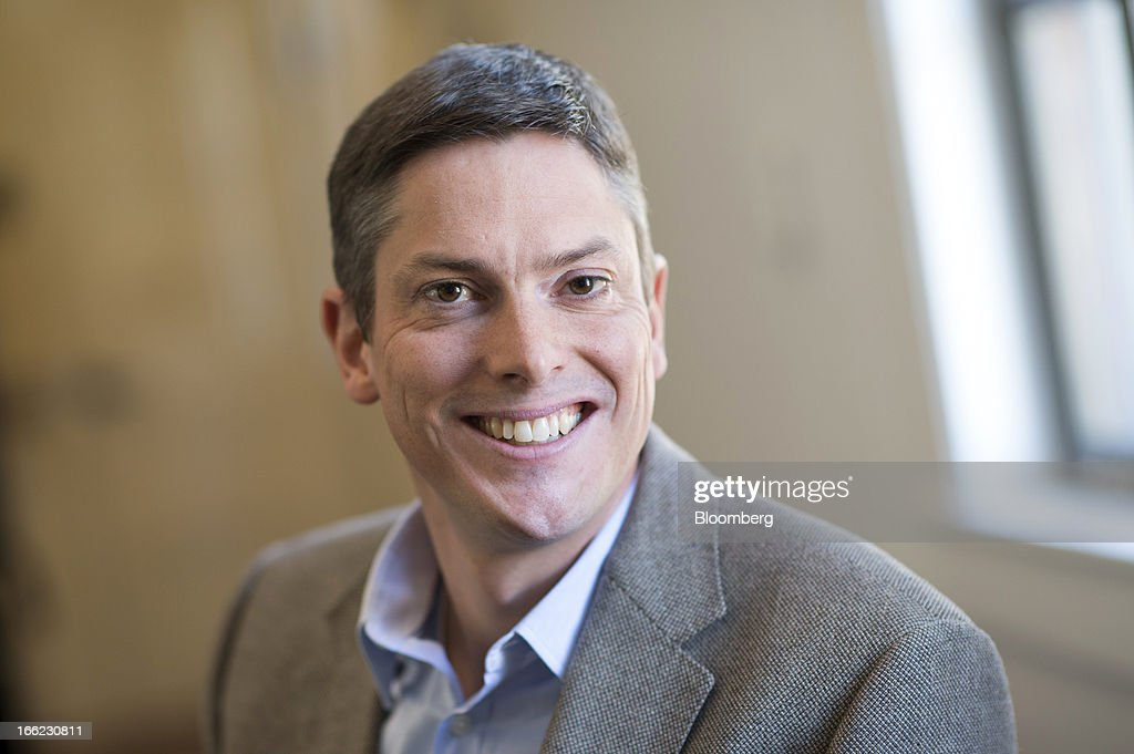 Eric Peacock, co-founder and chief executive officer at MyHealthTeams Inc., sits for a photograph after a Bloomberg West Television interview in San Francisco, California, U.S., on Wednesday, April 10, 2013. MyHealthTeams Inc. designs and develops applications for heath condition specific social networks. Photographer: David Paul Morris/Bloomberg via Getty Images