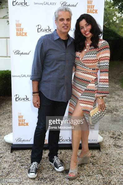 Eric Ripert and wife Sandra attend A Special Hamptons Screening Of 'The WayWay Back' After Party at Goose Creek on June 29 2013 in East Hampton New...