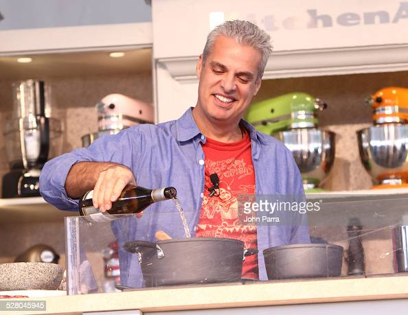 Eric Ripert attends The 2010 South Beach Wine and Food Festival Grand Tasting Village on February 28 2010 in Miami Beach Florida