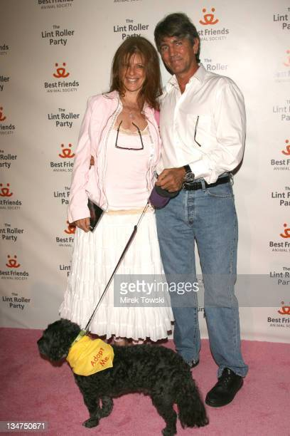 Eric Roberts and his wife Eliza Roberts during 'The Lint Roller Party' Best Friends Animal Society's Annual FundRaiser at Smashbox in Los Angeles...
