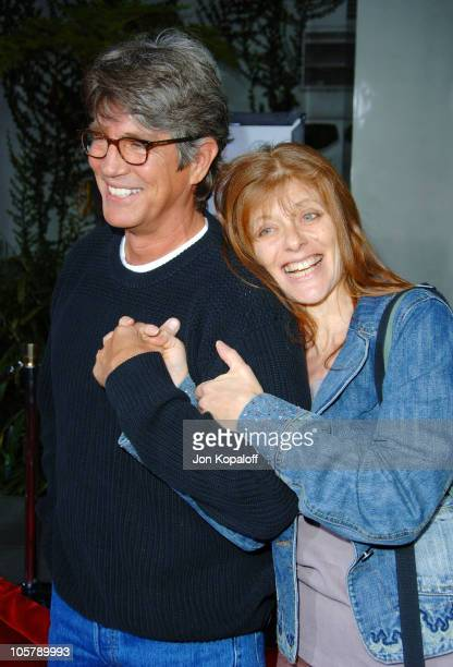 Eric Roberts and wife Eliza during 'American Dreamz' Los Angeles Premiere Arrivals at ArcLight Hollywood in Hollywood California United States