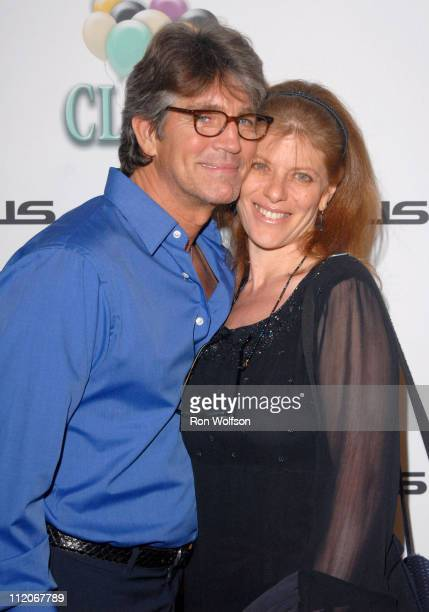 Eric Roberts and wife Eliza during Cloris Leachman Celebrates 60 Years in Show Business at Fogo De Chao in Beverly Hills California United States