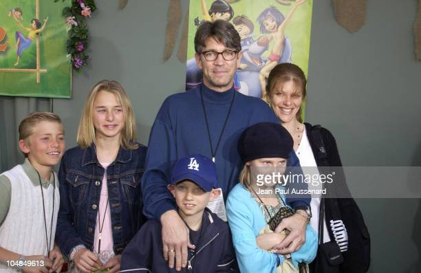 Eric Roberts family and guests during 'The Jungle Book 2' Premiere at The El Capitan Theater in Hollywood California United States