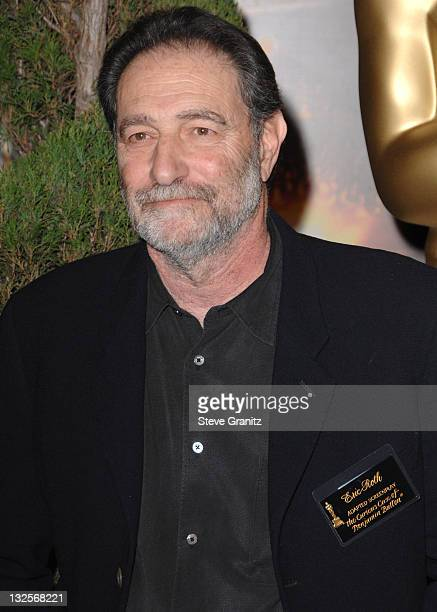 Eric Roth arrives at the 2009 Oscar Nominees Luncheon at the Beverly Hilton Hotel on February 2 2009 in Hollywood California