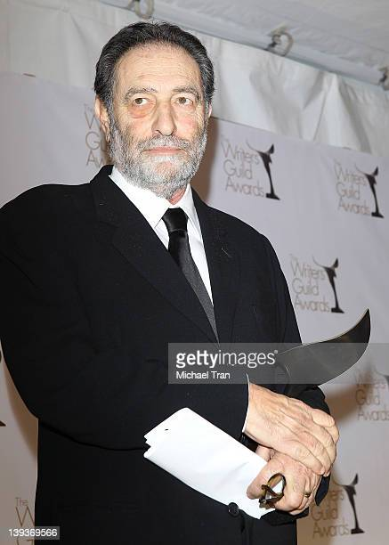Eric Roth attends the 2012 Writers Guild Awards press room held at The Hollywood Palladium on February 19 2012 in Los Angeles California