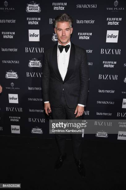 Eric Rutherford attends Harper's BAZAAR Celebration of 'ICONS By Carine Roitfeld' at The Plaza Hotel presented by Infor Laura Mercier Stella Artois...