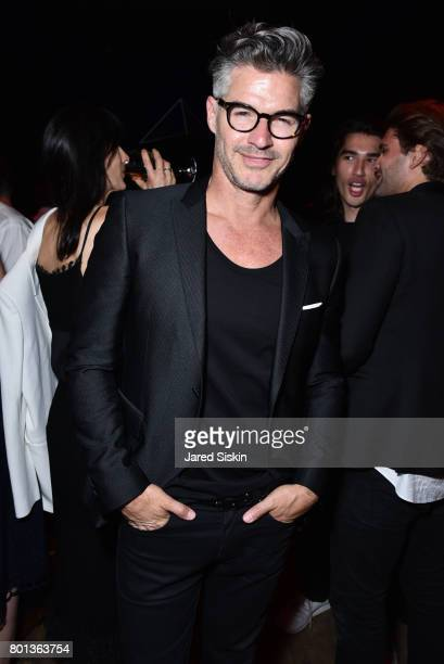 Eric Rutherford attends The Dom Perignon Vintage Trinity Launch Party at 17 Irving Place on June 22 2017 in New York City