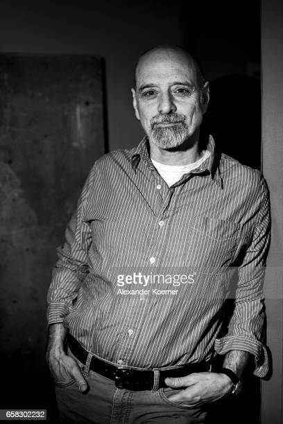 Eric Schlosser poses at the 'The Bomb' portrait session during the 67th Berlinale International Film Festival Berlin at Berlinale Palace on February...