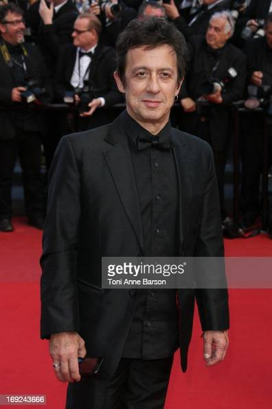 Eric Serra attends the Premiere of 'Cleopatra' during the 66th Annual Cannes Film Festival at the Palais des Festivals on May 21 2013 in Cannes France