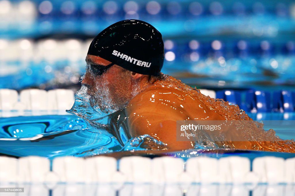 eric shanteau competes in the championship final of the mens 200 m breaststroke during day five